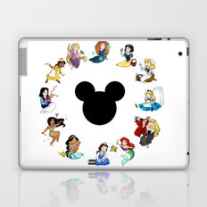 Time to be a Princess Laptop & iPad Skin