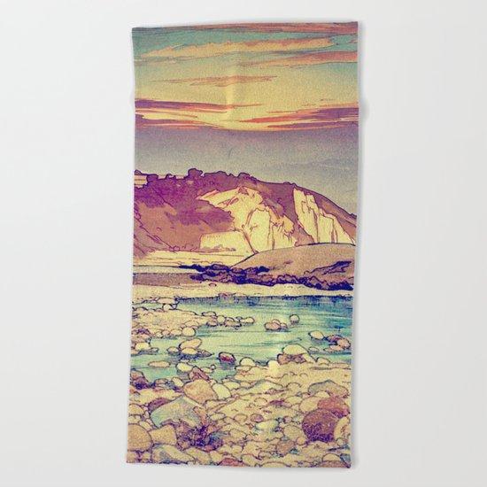 Sunset at Yuke Beach Towel