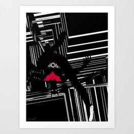 BatmanBeyond Art Print