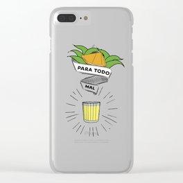 Mezcal para todo mal Clear iPhone Case