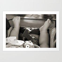 Little Toes Art Print