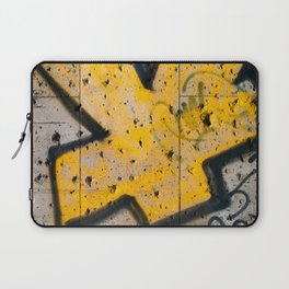 writing on the wall Laptop Sleeve