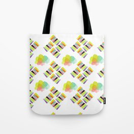 Colorful Socks Tote Bag