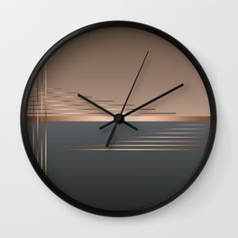 Bass gets you in the groin Wall Clock