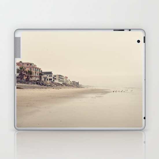day at the beach Laptop & iPad Skin