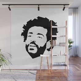 Mo Salah Face Wall Mural