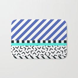 Memphis pattern 83 Bath Mat