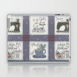 Sewing Friends #2 Laptop & iPad Skin