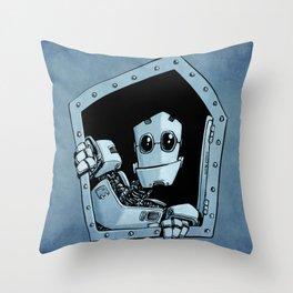 Knock, knock Throw Pillow