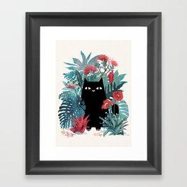 Popoki Framed Art Print