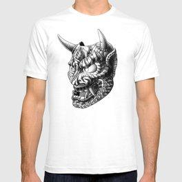 Japanese Demon Mask v.1 T-shirt