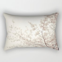 Cherry Blossoms - Central Park - New York City Rectangular Pillow