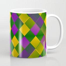 Harlequin Mardi Gras pattern Coffee Mug