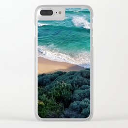 Beautiful Adventures Clear iPhone Case