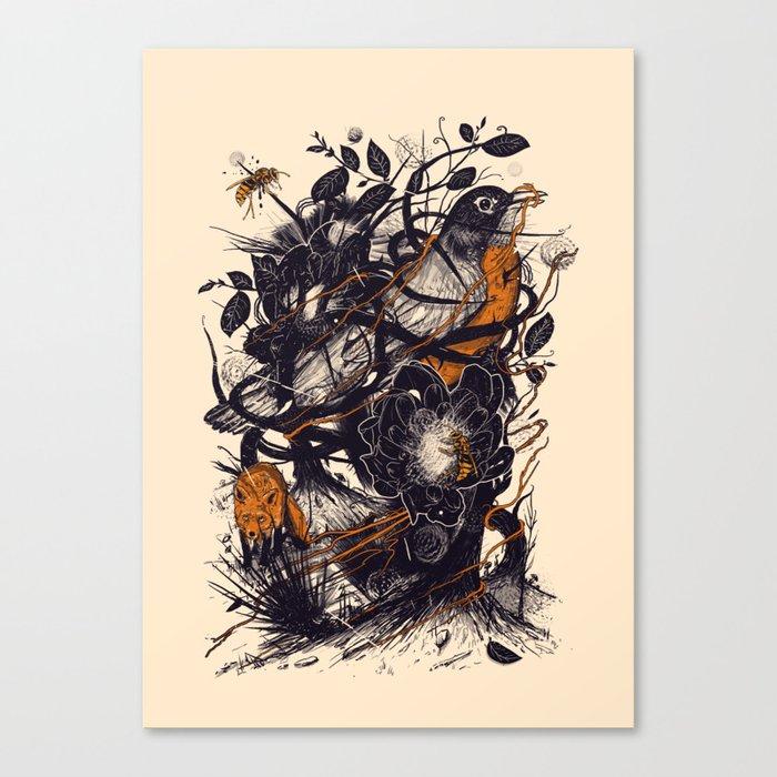 Natural Mystic Canvas Print