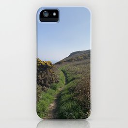 Howth cliffs iPhone Case