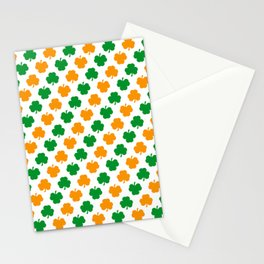 Irish Shamrocks Stationery Cards