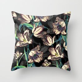 NIGHT FOREST XIII Throw Pillow