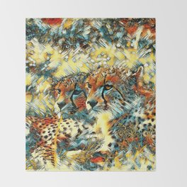 AnimalArt_Cheetah_20171004_by_JAMColorsSpecial Throw Blanket