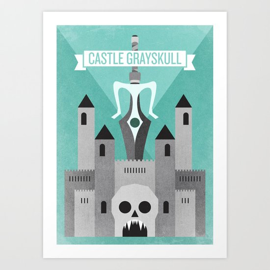 Castle Grayskull Art Print
