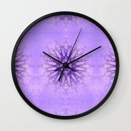 Sacred Geometry  Mark Day  Wall Clock