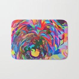 Abstract Doggo Bath Mat