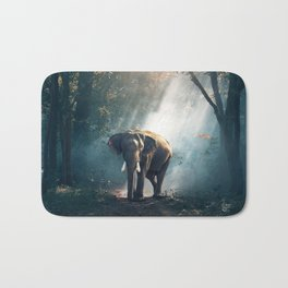 Sunlight Elephant Bath Mat