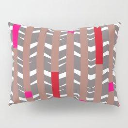 TRIBAL CHEVRON   mauve red Pillow Sham