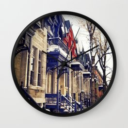 rue Laval -  Montreal Wall Clock