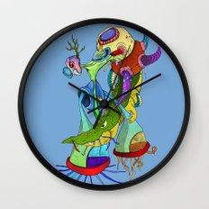 Crocodile tears collector Wall Clock