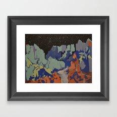 Grand Canyon nightfall Framed Art Print