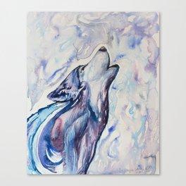 Wolf Howl Canvas Print