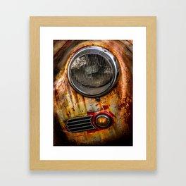 Rusty old Porsche Framed Art Print