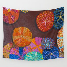 Sand Dollars Wall Tapestry