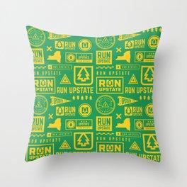 Run Upstate Throw Pillow
