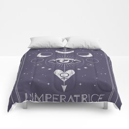 L'Imperatrice or L'Empress Tarot Comforters