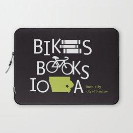 Bikes Books Iowa Laptop Sleeve