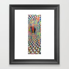 Catching Some Rays Framed Art Print