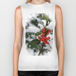 snow berries Biker Tank