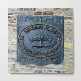 HISTORICAL BUCKS COUNTY Metal Print