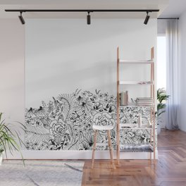 edge of the meadow Wall Mural