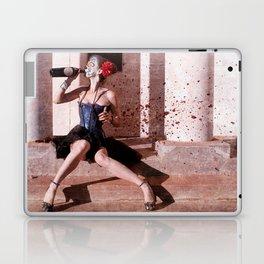 Booze Whore Of The Dead - Dia De Los Muertos Laptop & iPad Skin
