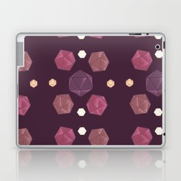 Red and Purple DnD Dice Laptop & iPad Skin
