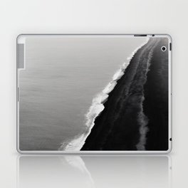 Black Sand Beach, Iceland Laptop & iPad Skin
