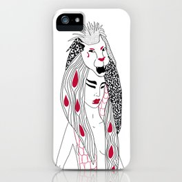 Leo / 12 Signs of the Zodiac iPhone Case