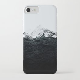 Those waves were like mountains iPhone Case