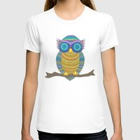 henna T-shirts featuring Henna Owl by haleyivers