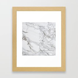 S/M Legacy Framed Art Print