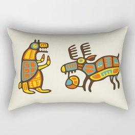 Moose & Bear Rectangular Pillow