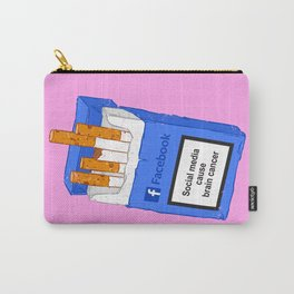 Social media cause brain cancer Carry-All Pouch